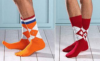 цвет команды влияет на выбор цвета носков