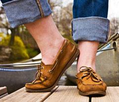 Топ-сайдеры лучше носить без носков