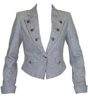 Пиджак застегивающийся на одну пуговицу